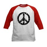 Distressed Peace Sign Tee