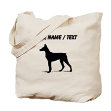 Custom Doberman Tote Bag
