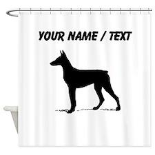 Custom Doberman Shower Curtain