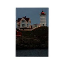Nubble light keychain Rectangle Magnet