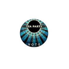 jan12_tea_party_jefferson_blue Mini Button