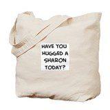 Hugged a Sharon Tote Bag