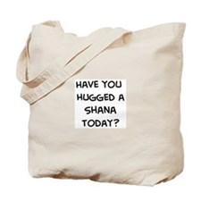 Hugged a Shana Tote Bag