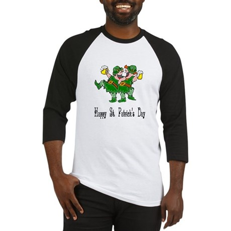 Leprechaun Dance Baseball Jersey