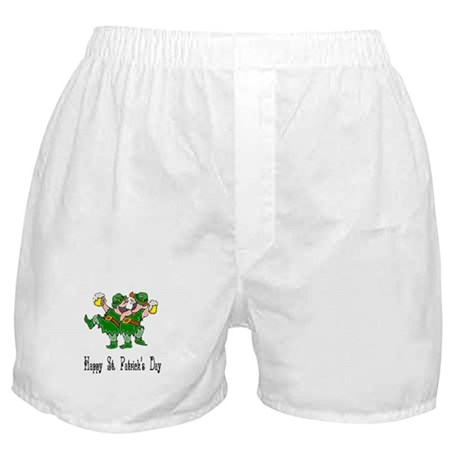 Leprechaun Dance Boxer Shorts