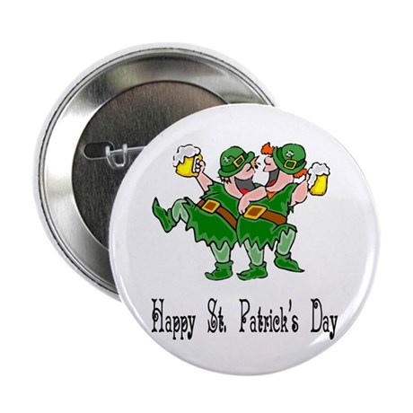 "Leprechaun Dance 2.25"" Button (10 pack)"