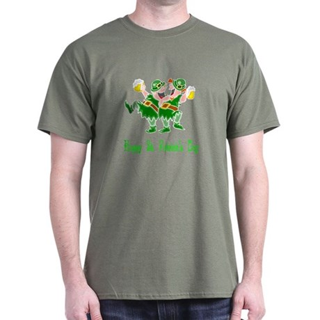 Leprechaun Dance Dark T-Shirt