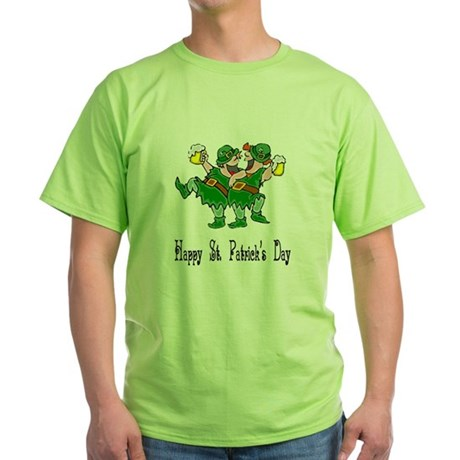 Leprechaun Dance Green T-Shirt