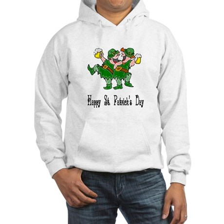 Leprechaun Dance Hooded Sweatshirt