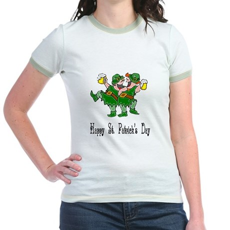 Leprechaun Dance Jr. Ringer T-Shirt