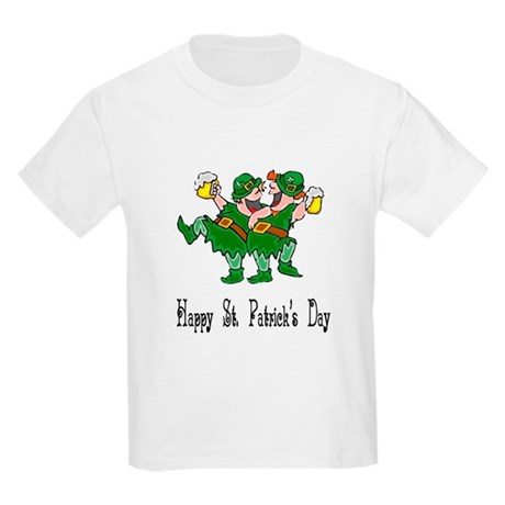 Leprechaun Dance Kids T-Shirt