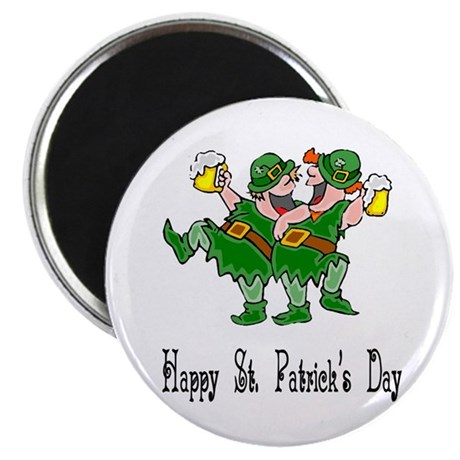 "Leprechaun Dance 2.25"" Magnet (100 pack)"