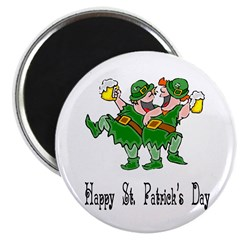 "Leprechaun Dance 2.25"" Magnet (10 pack)"