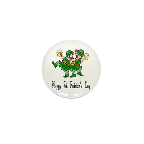 Leprechaun Dance Mini Button
