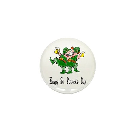 Leprechaun Dance Mini Button (100 pack)