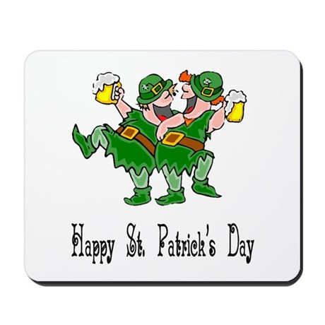 Leprechaun Dance Mousepad