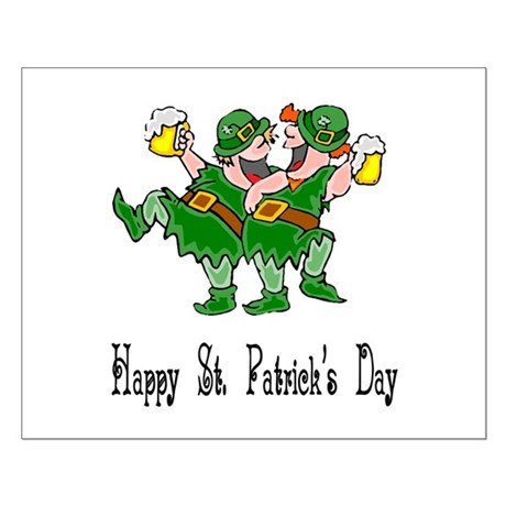 Leprechaun Dance Small Poster