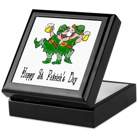 Leprechaun Dance Keepsake Box