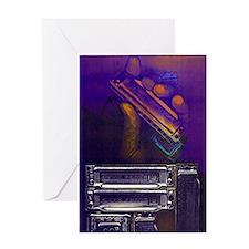 harpbendpuzfin2 Greeting Card