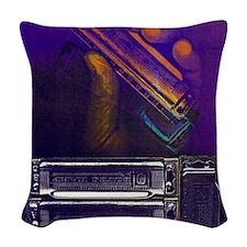 harpbendpuzfin2 Woven Throw Pillow