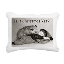 pquestion Rectangular Canvas Pillow