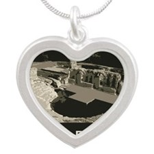 Butrint1 Silver Heart Necklace