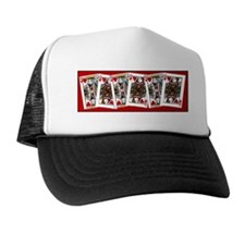 king and queen of hearts Trucker Hat
