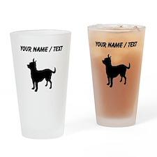 Custom Chihuahua Drinking Glass
