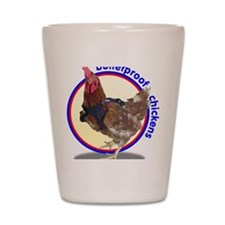 BP Chickens Shot Glass