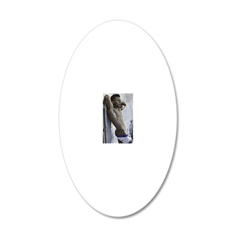 tyler 20x12 Oval Wall Decal