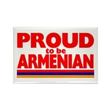PROUD ARMENIAN Rectangle Magnet