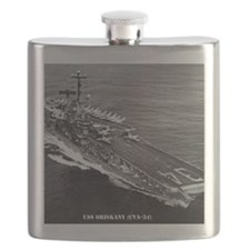 oriskany cva framed panel print Flask