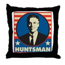 Patriotic1Huntsman1 Throw Pillow
