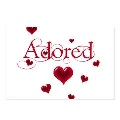 Adored Postcards (Package of 8)