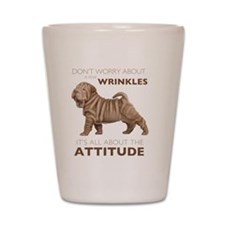 attitude2 Shot Glass