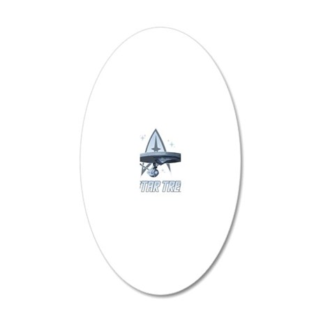 Star-Trek-Saying-blk 20x12 Oval Wall Decal