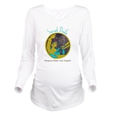 Sacred Doula Long Sleeve Maternity T-Shirt