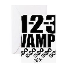1-2-3 VAMP! Greeting Card