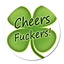 Cheers2012 Round Car Magnet