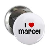 "I * Marcel 2.25"" Button (10 pack)"