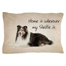 Sheltie Pillow Case