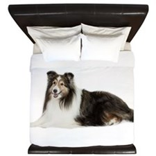 Sheltie King Duvet