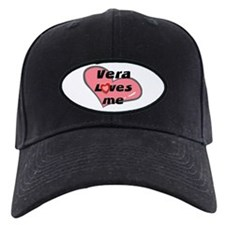 vera loves me Baseball Hat