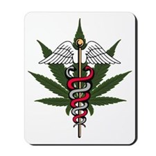 medical marijuana Mousepad