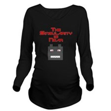 The Singularity is N Long Sleeve Maternity T-Shirt