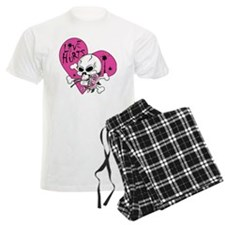 Love Hurts Skull.ai Pajamas