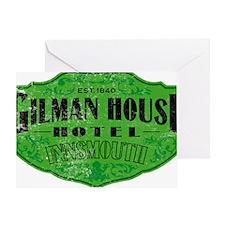 GILMAN HOUSE HOTEL Greeting Card