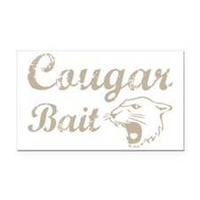 cougar bait Rectangle Car Magnet