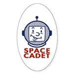 Space Cadet Oval Sticker