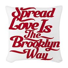 brooklynspreadloveRED Woven Throw Pillow